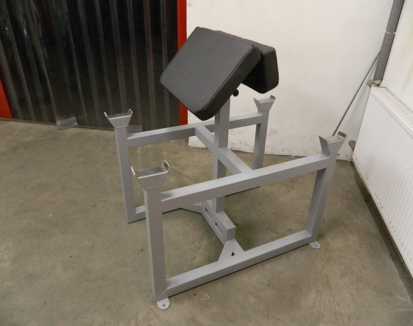 F2 Standing Two Sided Preacher Curl Bench Custom Gym Equipment
