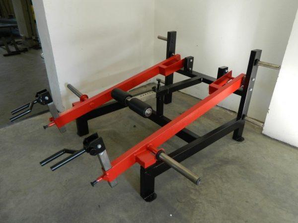 G1 Traps, Shrugs, Lunges, Deadlift Machine