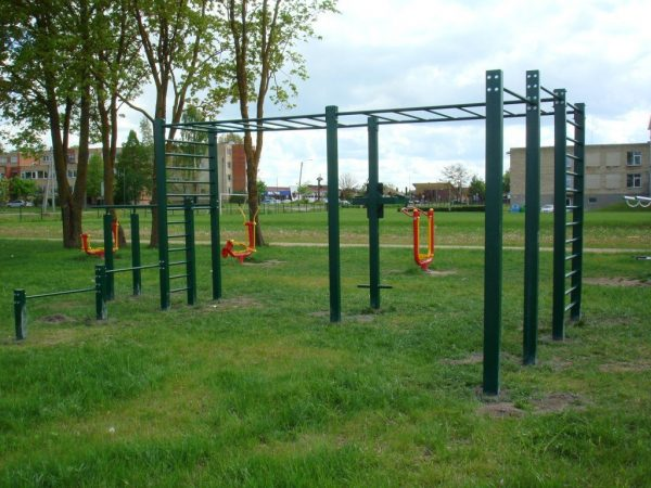 U1 Outdoor Fitness Station