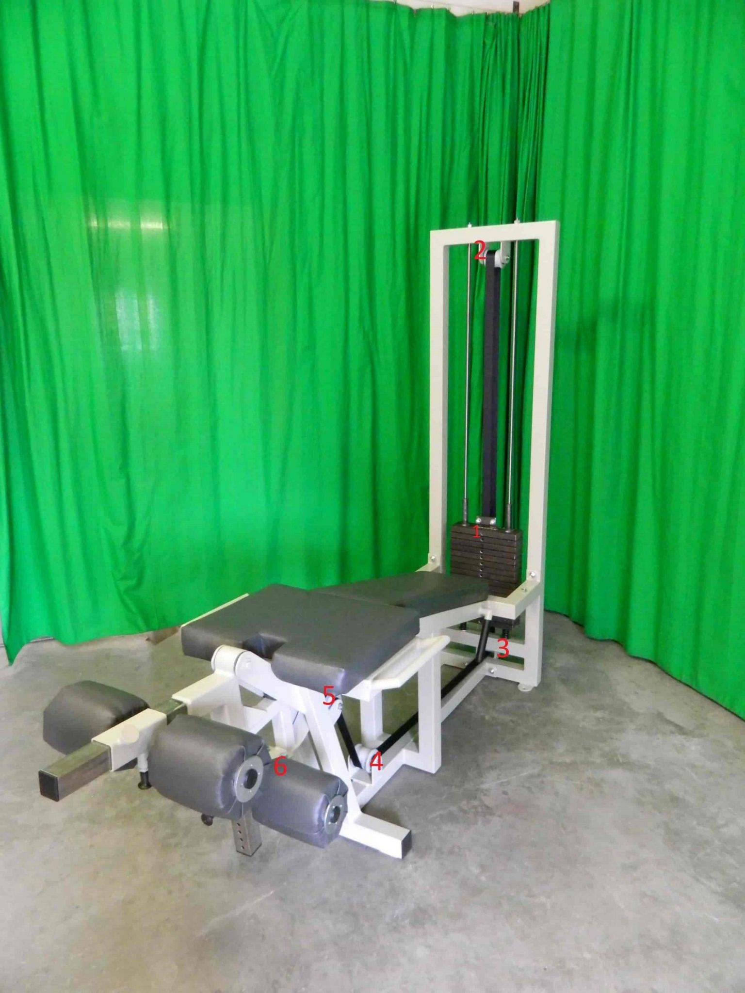 Lying-Curl-Leg-Extension-machine