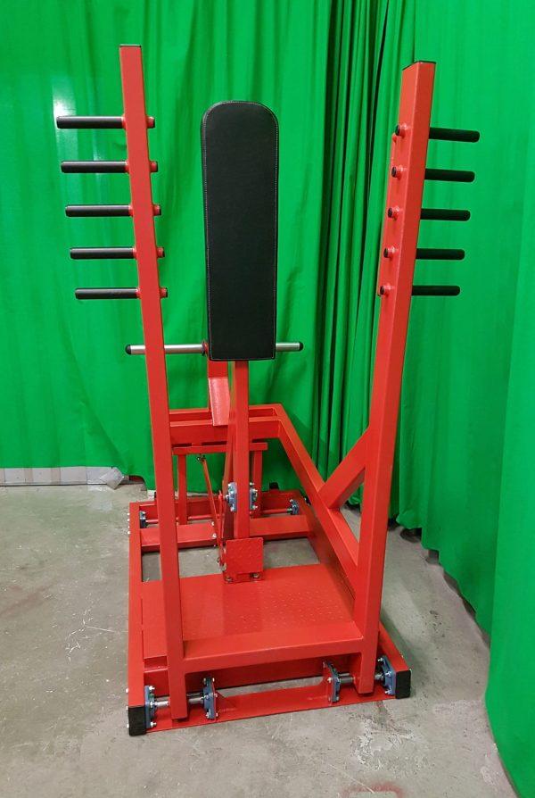 Standing-chest-press-machine
