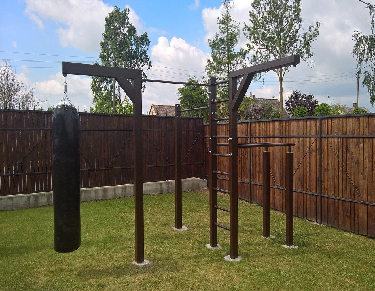 U4 Outdoor Fitness Station
