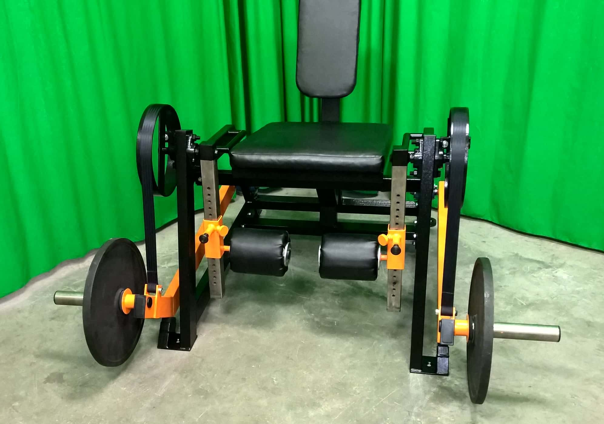 individual-leg-extension-machine
