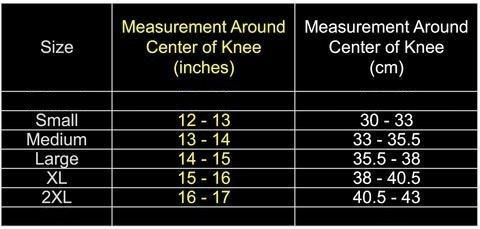 knee-sleeve-chart