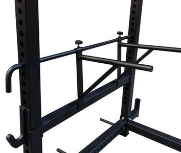squat-rack-dipping-bars