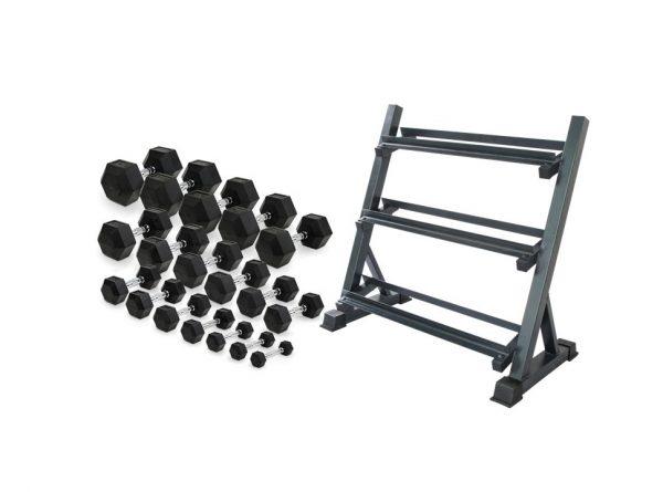 2.5kg-25kg-hex-dumbbell-set-with-3-tier-rack