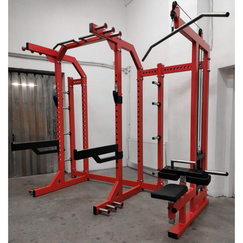 Multifunctional-half-rack-lat-pulldown-B9X