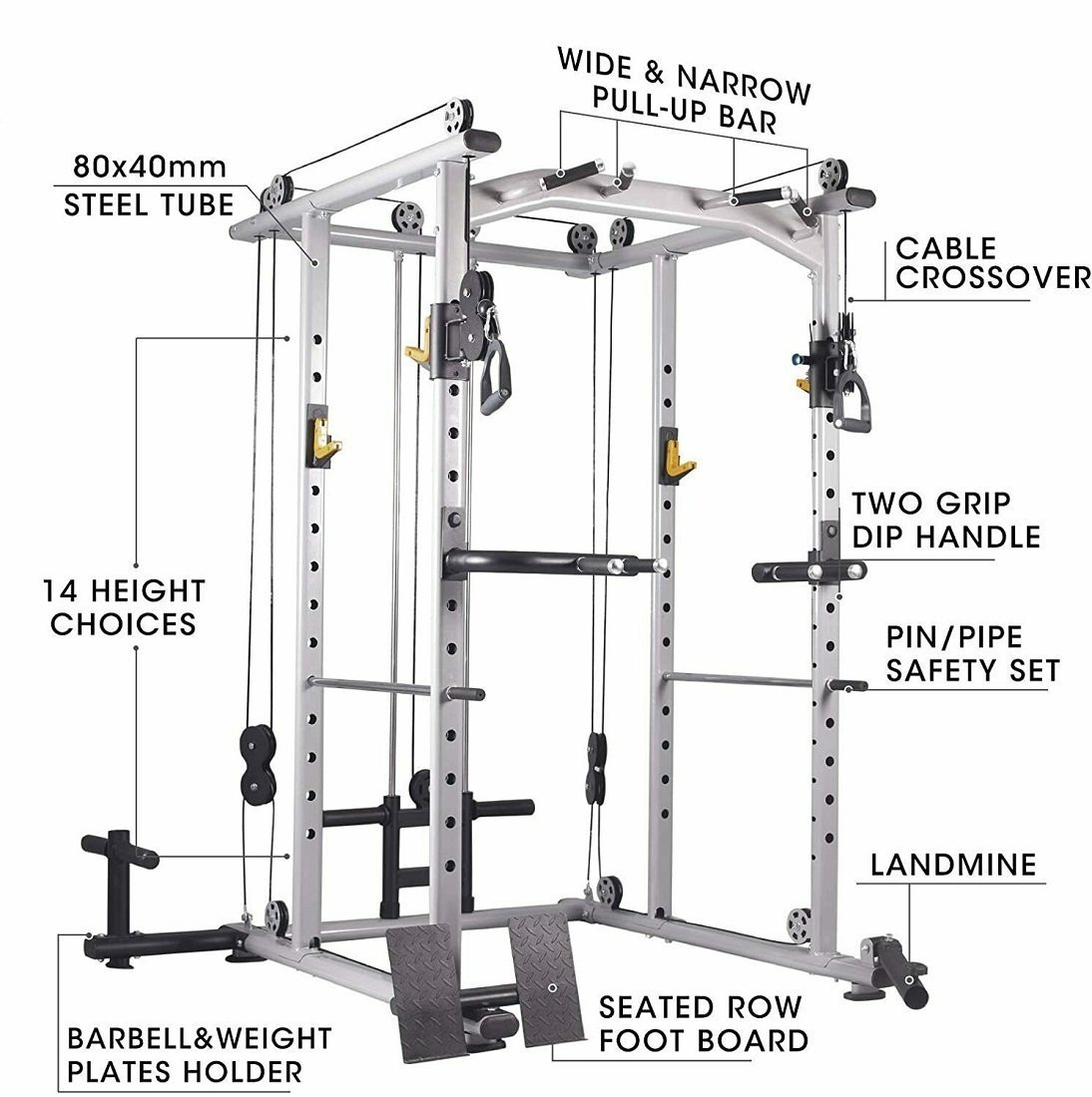 All-in-one-functional-power-rack-cable-cross-over