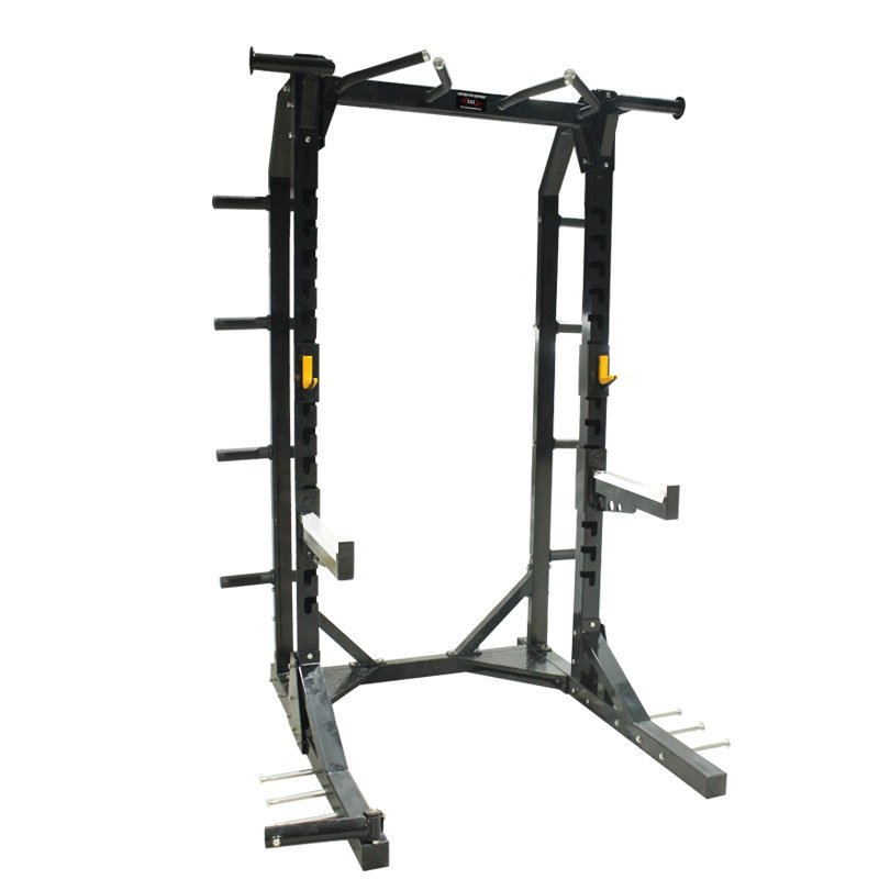 Commercial-half-rack-with-landmine-attachment