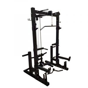 commercial-half-rack-with-lat-pulldown-low-row-system