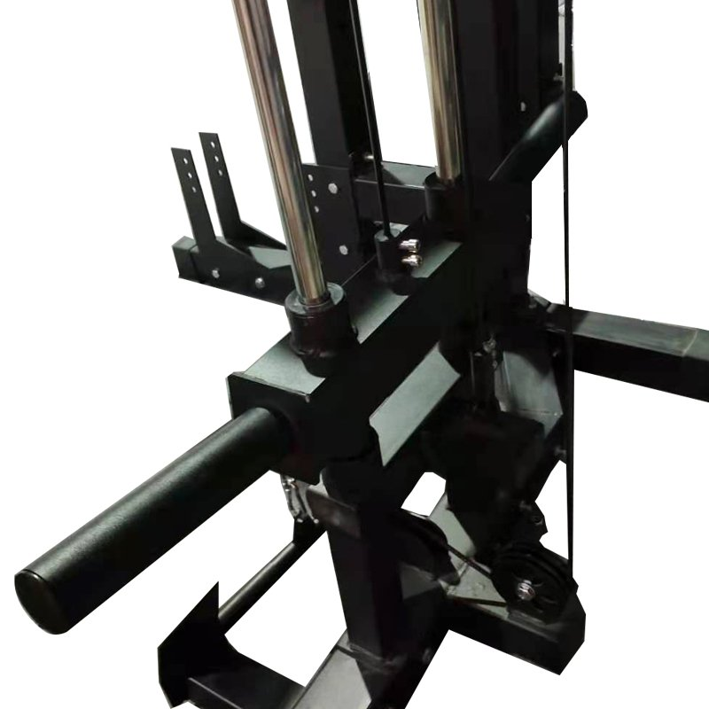 commercial-half-rack-with-multifunctional-pulley-system