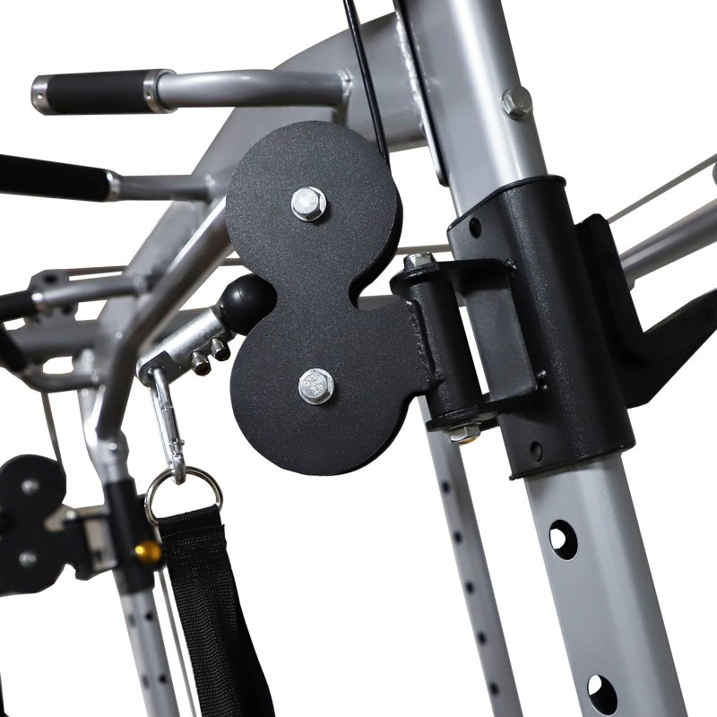 multifunctional-power-rack-cable-cross-over-swivel-system