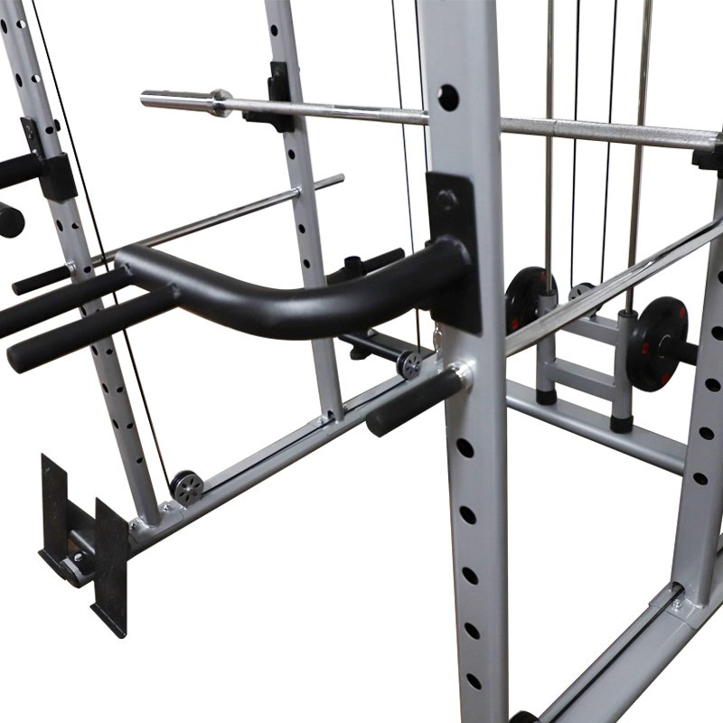 multifunctional-power-rack-cable-cross-over-with-dip-bars