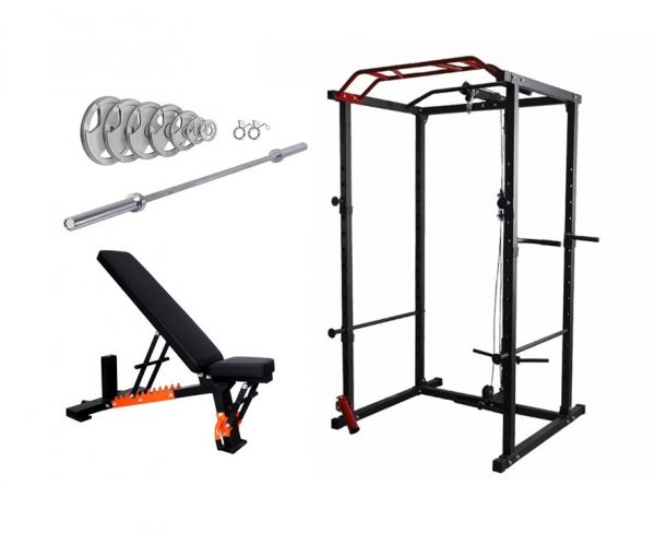 Power-rack-home-gym-pulley-system-package